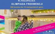 plakat akcji Małopolska Olimpiada Frekwencji