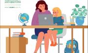 plakat projektu komputer dla dziecka z rodziny rolniczej
