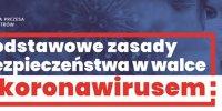 plakat bezpieczeństwo w czasie epidemii