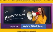 plakat projektu Wróć z Powerem