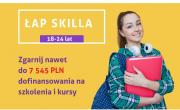 plakat Projektu Łap Skilla